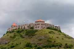 Sumeg Castle, Hungary Royalty Free Stock Images
