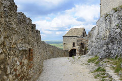 Sumeg castle. Hungary. Sumeg castle. Veszprem country. Hungary Royalty Free Stock Photo