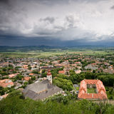 Sumeg with clouds Stock Image