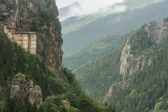 Sumela修道院 免版税库存图片