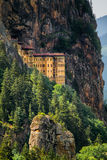 Sumela修道院 库存图片