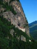 Sumela monastary. Greek Orthodox monastary in Eastern Turkey Royalty Free Stock Photo