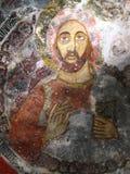 Sumela monastary. Fresco in the Greek Orthodox monastary in Eastern Turkey Stock Images