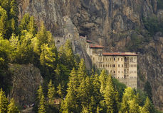 Sumela Monastery. The Sumela manastery in north east Turkey Royalty Free Stock Image