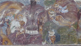Sumela Monastery Frescoes Royalty Free Stock Images