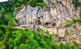Sumela Monastery na província de Trabzon de Turquia foto de stock