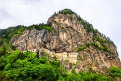 Sumela Monastery na província de Trabzon de Turquia imagem de stock royalty free