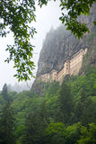Sumela  monastery outside view Royalty Free Stock Photo