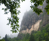 Sumela  monastery outside view Stock Image
