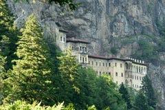 Sumela Monastery sur la côte de la Mer Noire de la Turquie photo stock