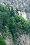Sumela Monastery sur la côte de la Mer Noire de la Turquie image libre de droits
