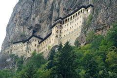 Sumela Monastery sur la côte de la Mer Noire de la Turquie image stock