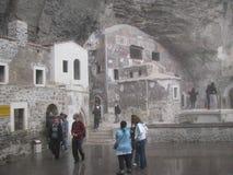 Sumela Monastery trabzon kalkon Fotografering för Bildbyråer