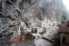 Sumela Monestary Near Rize, Turquía fotografía de archivo
