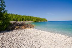 Sumer in Bruce Peninsula National Park Ontario Canada Stock Afbeeldingen