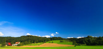 Sumer landscape Royalty Free Stock Photos