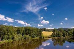 Sumer pond Stock Images