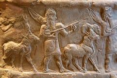Sumerian артефакт стоковые изображения