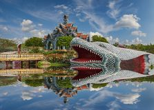 Sumeru山宫殿,古老Cityf曼谷 免版税图库摄影