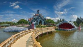 Sumeru-Gebirgspalast, altes Cityf Bangkok Stockfoto