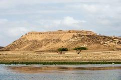 Sumhuram Castle, Khor Rori, Salalah, Dhofar, Sultanate of Oman Stock Image