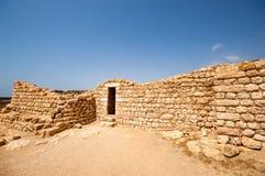 Sumhuram slott, Khor Rori, Salalah, Dhofar, sultanat av Oman fotografering för bildbyråer