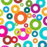 Sumi okręgu tła abstrakcjonistyczni tła jaskrawi Obraz Stock