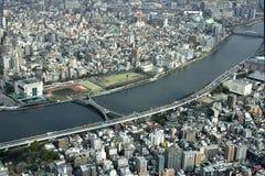 Sumida flod Arkivbild