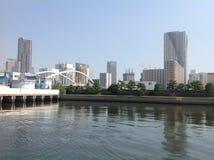 Sumida-Fluss in Tokyo Stockfotografie