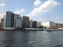 Sumida-Fluss in Tokyo Lizenzfreie Stockfotografie