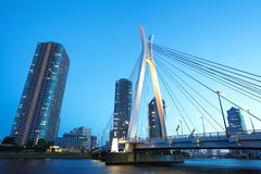 Sumida river in central Tokyo ,Japan Royalty Free Stock Photo