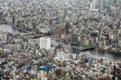 Sumida River, Tokyo, Japan Royalty Free Stock Photography