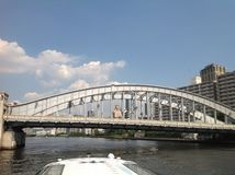 Sumidarivier in Tokyo Royalty-vrije Stock Afbeelding