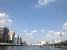 Sumidarivier in Tokyo Royalty-vrije Stock Afbeeldingen