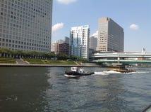 Sumidarivier in Tokyo Royalty-vrije Stock Foto