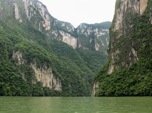 Sumidero Canyon High Cliffs stock images