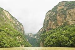 sumidero canyon Meksyku zdjęcia royalty free