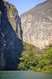 Sumidero Canyon in Mexico Royalty Free Stock Photos
