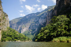 Sumidero canyon in Mexico Stock Photography