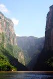 Sumidero de la barranca, México Fotos de archivo