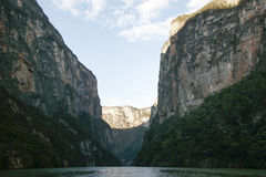 Sumidero jar, Chiapas, Meksyk, turystyka, natura fotografia stock