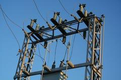 Suministro de electricidad Fotos de archivo libres de regalías
