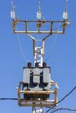 Suministro de electricidad Foto de archivo libre de regalías