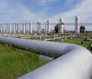 Suministro de gas Foto de archivo libre de regalías