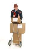 Suministro de servicios postal foto de archivo libre de regalías