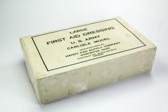 Suministros médicos usados durante la Segunda Guerra Mundial Imágenes de archivo libres de regalías