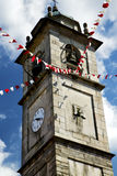 Sumirago old abstract in  italy   tower bell sunny day Stock Photo