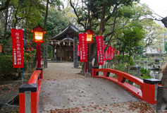 Sumitomo Shrine, Fukuoka Royalty Free Stock Photography