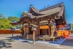 Sumiyoshi盛大寺庙在大阪 免版税库存图片