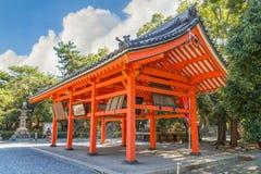 Sumiyoshi盛大寺庙在大阪 免版税库存照片